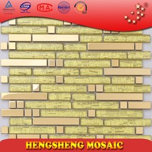 SA32 splendid and magnificient metal mixing glass mosaic tile
