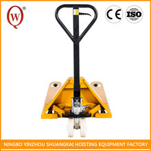 With Low Height Working HPT6122-3T hydraulic hand pallet truck for carry cargo