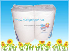 Recycled printed private label cheap bathroom toilet tissue