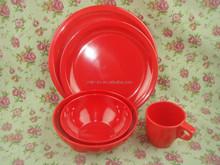 new design colorfull melamine 6pcs mixing bowl set