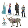 6x Frozen Anna Elsa Olaf Sven Doll Loose Figurine Figure Cake Top Toy Set