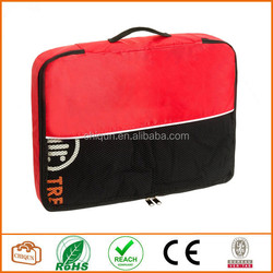 2015 Chiqun Dongguan Packing Cube Pouch Nylon Travel Luggage Bag (Large) Red
