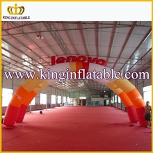 Double Advertising Inflatable Arch Rental, Inflatable Archway For Sale