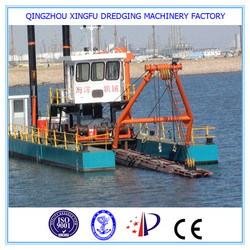 Best selling sand suction dredger boat/non self propelled cutter suction dredger/jet dredger price/dredgers for sale