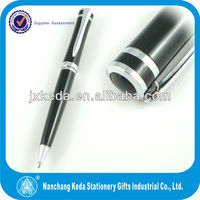 2014 Metal personalized black ink pens as gift pens