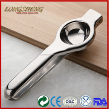 2015 Hot New Products Stainless Steel Lemon Squeezer F064 Hand Lemon Squeezer