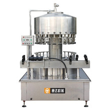automatic bottle washing filling and capping machine for wine