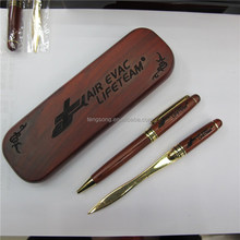 High-grade wood pen+The envelope knife set,wood promotional gift sets TS-p00032