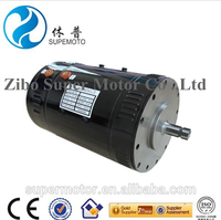 7kw 72v separately excited dc motor for mobile police room