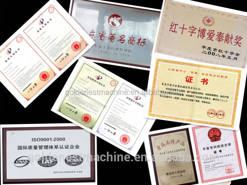 Certificates and patents