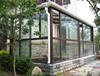 modern design customized aluminum lowe glass sunroom