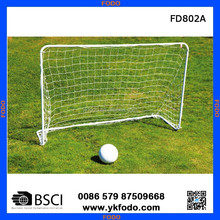 collapsible aluminum football training goal post with net FD802A