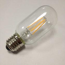 ETL UL cUL listed Innovations Energy Saving 4-Watt LED Filament Light Bulb - Dimmable - Soft White 2700K - T45-medium screw base