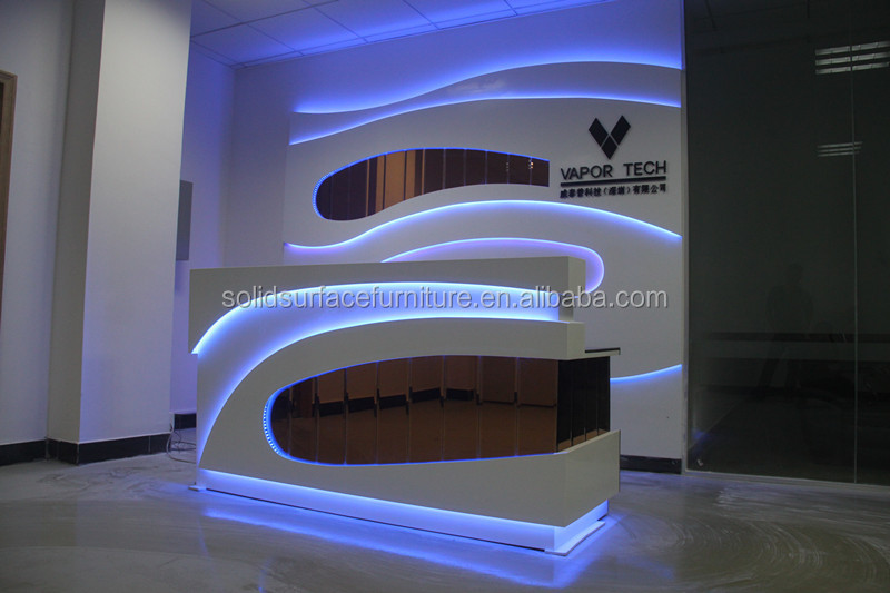 2014 Tw Hot Selling Modern Counter Furniture Retail Cash