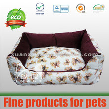 butterfly printing high quality dog bed pet bed