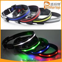 china unique products 2015 TZ-PET6100 dog collar nylon dog collars neon dog collar