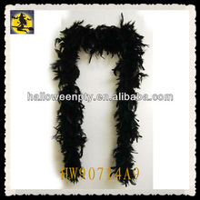 Cute Black Cheap Ostrich Feather Boas for Unisex