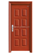 Europe mondern style single steel interior doors