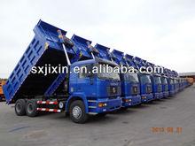 10 wheels Shacman dump truck better than used toyota dyna truck