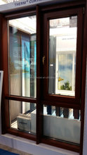 German style wood curtain wall system tilt and turn window