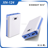 China factory cheap usb lcd listed charger business power bank 10400mah with A-grade samsung battery cell
