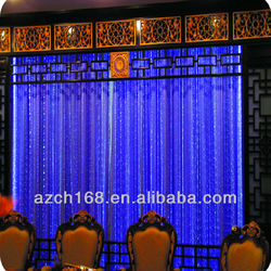 Fiber optical Indoor water curtain