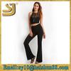 Custom high quality stretch fitness women wholesale yoga pants, stretch skinny knit custom fashion jogger pants for women