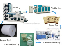 DC-750 Automatic High Speed Low waste flatbed paper cup die cutting machine