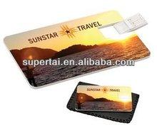 de promoción de la tarjeta de crédito usb flash disk