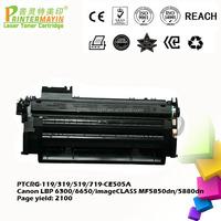 Compatible Toner Cartridge for Canon lbp-6300dn Printer (PTCRG-119/319/519/719)