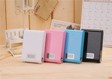 12000mAh LCD External Power Bank Backup Dual USB Battery Charger for iPhone HTC