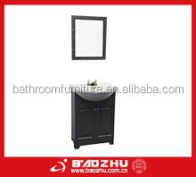 Bathroom grey cabinet (BZ727) Fair price and high quality MDF bathroom vanity