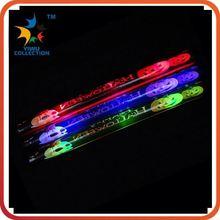 promotional custom fancy led cheering glow drum sticks