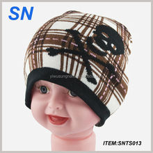 wholesale children Pom Pom Cheap Custom Winter Hat/ Knitted Beanie/ Knitted