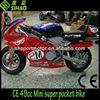 Spider-man 49cc Mini Super Pocket bike CE 49cc Kids bike
