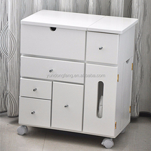 Classical design standing dresser for lady bedroom sale