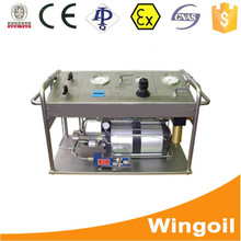 Gas and Oil CNG Cylinder Hydrostatic Pressure Testing Machine