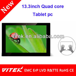 """New Quad core IPS Tablet 13.3"""" camera Tablet quad"""