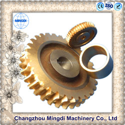 gears shaft worm Pinion Brass Worm Gear screw shaft transmission parts for worm reduction gearbox