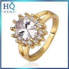 Top level stylish ring golden 18k