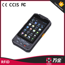 1D 2D barcode scanner wifi 3g usb rfid reader rough and tough android phones
