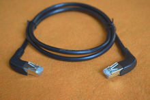 RIGHT ANGLED 1 M CAT 5e CABLE Ideal where space is limited or anywhere