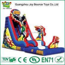 spiderman batman super hero custom inflatable slide