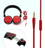 Stereo bluetooth earbuds best sale tv headphone with remote control