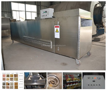 Continuous type Sesame Seed/Wheat/Tea/Coffee Bean Roasting Machine/Roaster/Drying Machine/Dryer