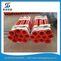 Factory price wear-resisting small concrete steel pipe and spare parts