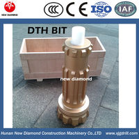 tungsten carbide rock drilling head for water well oil mining drilling