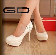 bridal wedding rhinestone lady high heel shoes