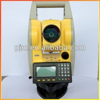 laser total station PTS-120/120R reflector surveying instruments functional as leica nikon topcon south sokkia total stations