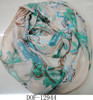 Fashion spring classic floral wrap neck scarf